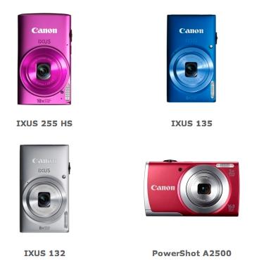 Canon hat drei neue IXUS- und eine PowerShot-Kamera vorgestellt.