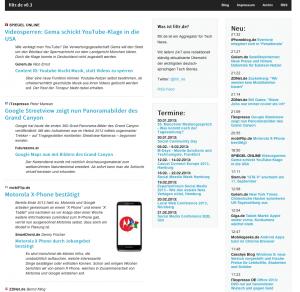 Filtr ist ein neuer Newsaggregator