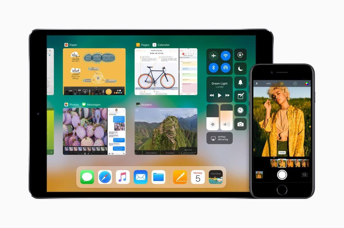 iOS 11 bringt viele neue interessante Funktionen mit. Foto: (c) Apple